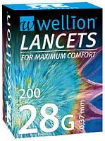 Ланцеты Wellion 28 №200