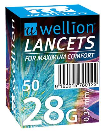 Ланцеты Wellion 28 №50