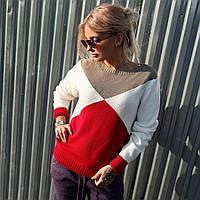 Красный свитер Сиеста