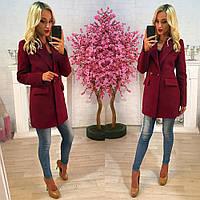 Пальто женское кашемировое Лина 49,верхняя одежда