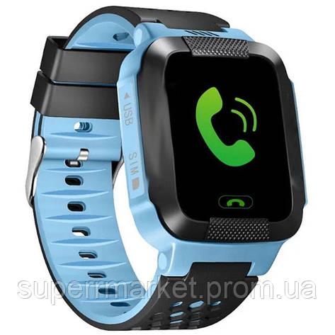 Smart Watch Kids Y21 (Q528) GPS детские смарт часы с трекером, фото 2 b101b04ad31