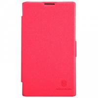 Nillkin Fresh Series Leather case Lenovo A820E Red (книжка) 6956473251903