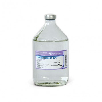 Раствор глюкозы 40% 250 мл - 9Lives в Броварах