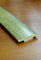 Бамбуковый молдинг стыковочный, серо-зеленый