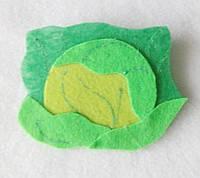 Овощи из фетра Капуста для рукоделия