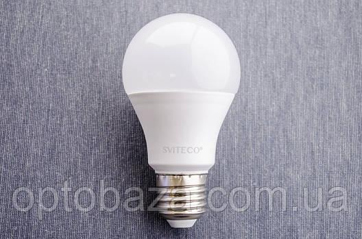 LED лампа SvitEco А60 7Вт E27 4000K гарантия 3 года, фото 2
