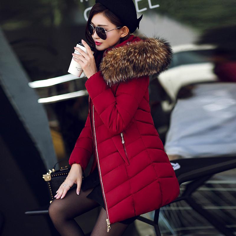Женская короткая зимняя куртка с мехом. Модель 6378.