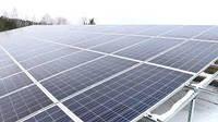 Сетевая солнечная электростанция с резервной функцией 1050 кВт (1802 кВт в летний) месяц