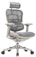 Эргономичное компьютерное кресло ERGOHUMAN Plus Luxury Grey