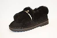 Туфли женские с мехом кролика Veritas 519