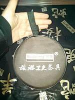 Очень крутой дорожный чайный набор посудыдля питья китайского чая методом проливов: чабань (чайный столик), чайник, пиалы, сумка