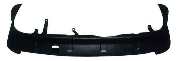 Накладка заднего бампера Mitsubishi Outlander XL 07-10 нижняя (FPS)