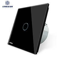 Сенсорный выключатель Livolo | цвет черный