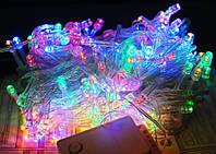 Светодиодная новогодняя гирлянда 400л, цветная