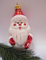 """Формовая стеклянная игрушка """"Дед Мороз"""""""