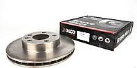 Диск тормозной (передний) VW T4 2.5TDI 96- R15 (280x24) Daco