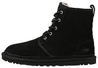 Зимние мужские высокие ботинки угги UGG Australia Harkley черные