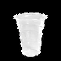 Стаканы пластиковые 300мл 50шт Прозрачные
