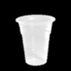 """Стаканы пластиковые """"ХТМК"""" 350мл 50шт Прозрачные"""