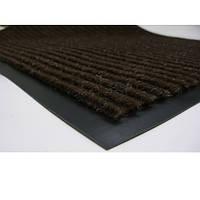 Коврик грязезащитный влаговпитывающий 80 х 120 коричневый, фото 1
