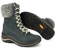 Жіночі черевики зимові високі Grisport 12303 сині