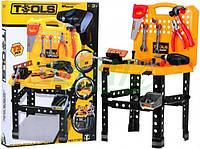 Детский набор инструментов в чемодане ЧЕМОДАН + СТОЛИК + АКСЕССУАРЫ + ИНСТРУМЕНТЫ В НАЛИЧИИ