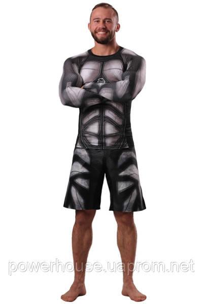Рашгард и шорты MMA Berserk  IRON MEN black