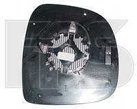 Вкладыш бокового зеркала Mercedes Vito 03-10 W639 без обогрева, асферический - правый