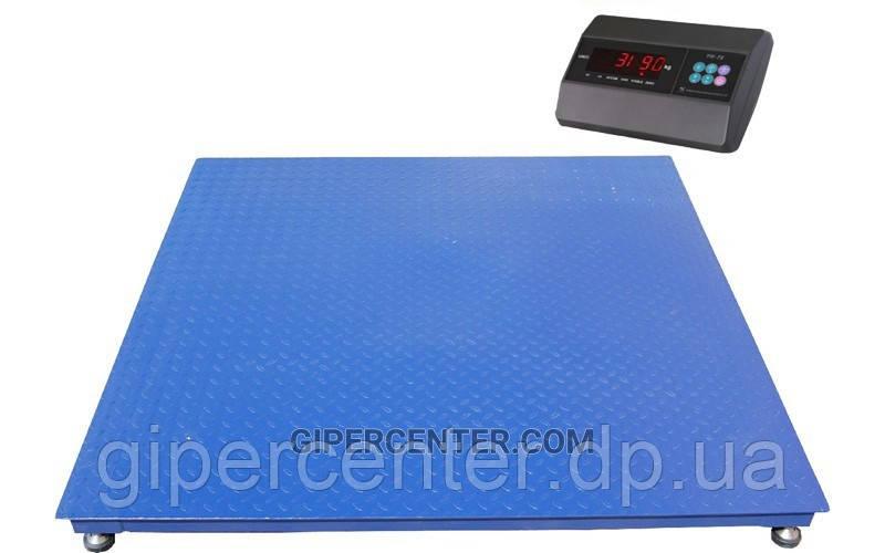 Весы платформенные TRIONYX П1212-СН-1500 Keli xk3118t1 до 1500 кг, 1200х1200 мм