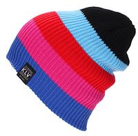 Молодежная вязаная шапка для подростков и взрослых