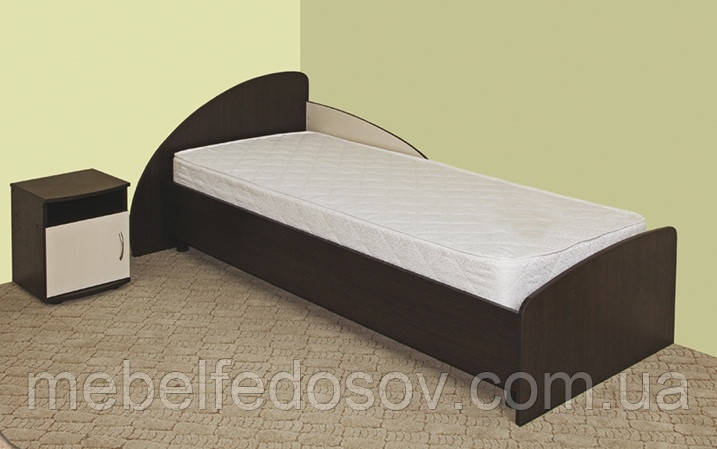 Кровать V-12 односпальная (Континент) 800х2000мм