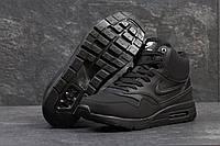 Кроссовки мужские Nike Air Max 87. Замша Мех 100%. Тёмные
