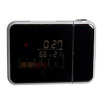 Часы с проектором времени Color Screen Calendar 8190, фото 3