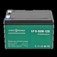 Тяговий акумулятор мультигелевый тягової LogicPower LP-6-DZM-12 AGM, фото 1