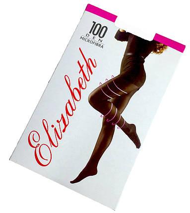 Женские колготки Elizabeth microfibra 100 den черные, фото 2