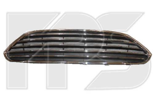 Решетка в бампер средняя Ford Fiesta (13-17) (FPS), фото 2