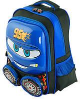 """Детский рюкзак """" Тачки"""" из полиэстер Traum 7005-48, цвет синий. Обьем 6 л."""