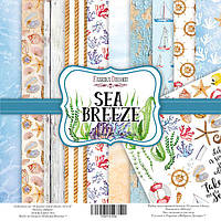 Фабрика Декору Набор скрапбумаги Sea Breeze, 30,5 Х 30,5 см