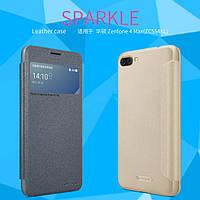 Кожаный чехол Nillkin Sparkle для Asus Zenfone 4 Max ZC554KL (2 цвета), фото 1