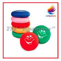 Подушки игрушки круглые с нанесением логотипа под заказ (от 50 шт.)