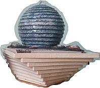 Фонтан без подсветки Фен шуй шар 25 см 155
