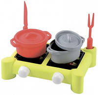 "Игровой набор ""Плита и посуда"", 7 аксес., 18 мес. +"