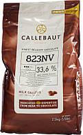"""Темный молочный шоколад 33,6 % какао (10 кг) ТМ """"Barry Callebaut Belgium"""""""