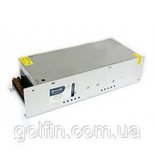 Блок живлення імпульсний 12V/500Вт (перфорований)