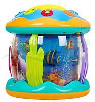 Детский музыкальный ночник аквариум с проектором 3 в 1 В НАЛИЧИИ