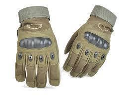 Перчатки тактические, защитные. ОЛИВА