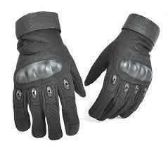 Перчатки тактические, защитные. ЧЕРНЫЕ