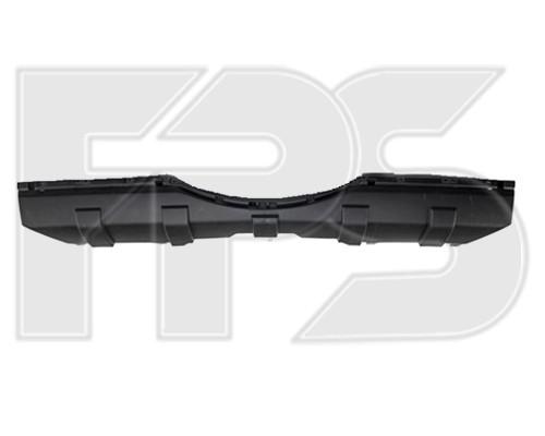 Бампер задний Mitsubishi Pajero Wagon 4 07-, нижняя средняя часть, черный (FPS)