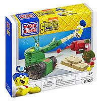 Конструктор Мега Блокс Губка Боб квадратные штаны Mega Bloks SpongeBob Pickle Tank Attack Building Set  , фото 1