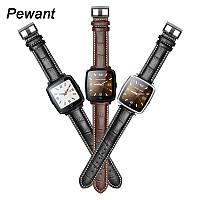 Смарт часы Smart watch U11 кожаный ремешок, bluetooth, фото 1
